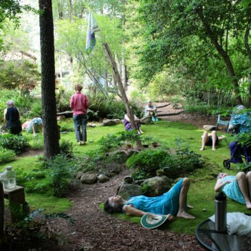 May Day Blessing in the Moss Garden Sanctuary
