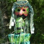 Beltane Earth Figure at Earth Sanctuaries Celebration
