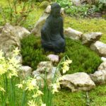 Kwan Yin in Earth Sanctuaries Moss Garden