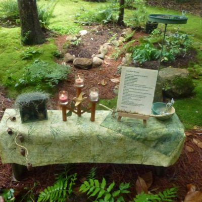 Moss Garden Altar
