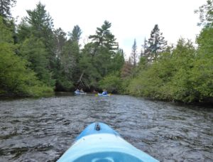 Kayaking Namekagon, Visiting Ojibwe Family