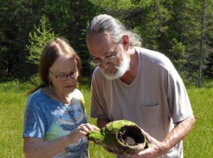 Visiting a bog with Ojibwe Family
