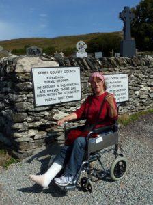 Broken ankle, Pilgrimage to Ireland