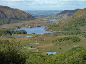 Ladies View, Pilgrimage to Ireland On One Foot