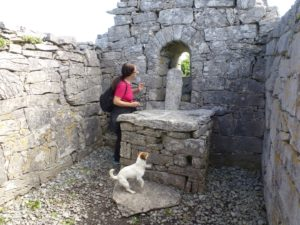 Inside St. Gobnait's church, Inisheer