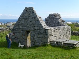 St. Gobnait's early Christian church, Inisheer