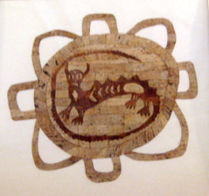 "Web image of an ""Underwater Panther,"" a common mythical animal figure of effigy mounds."