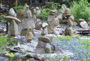 The Stone Garden: Stone beings in Delicate Balance
