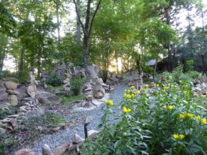 The Stone Garden at Sunset