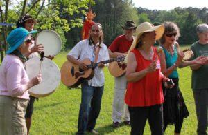 Beltane Maypole Chanters