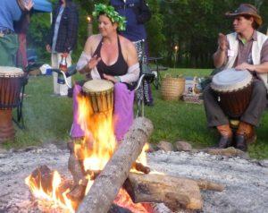 Beltane Drumming