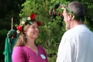 Beltane King and Queen