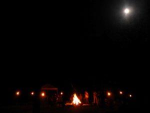 Beltane Night Scene
