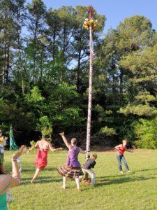 End of Maypole Dance