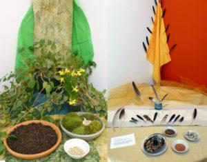 Earth and Air Altars at Earth Sanctuaries Imbolc Celebration