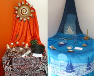 Fire and Water Altars at Earth Sanctuaries Imbolc Celebration