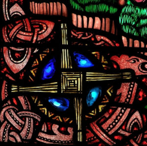 St. Brigid, by Harry Clarke at St. Brigid's Church, San Francisco